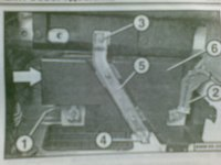 Демонтаж и установка аккумуляторной батареи