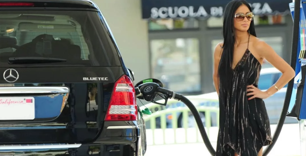 Низкие цены на бензин