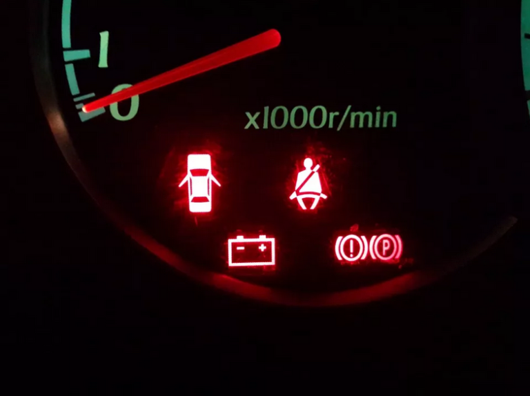 … загорелся значок аккумулятора